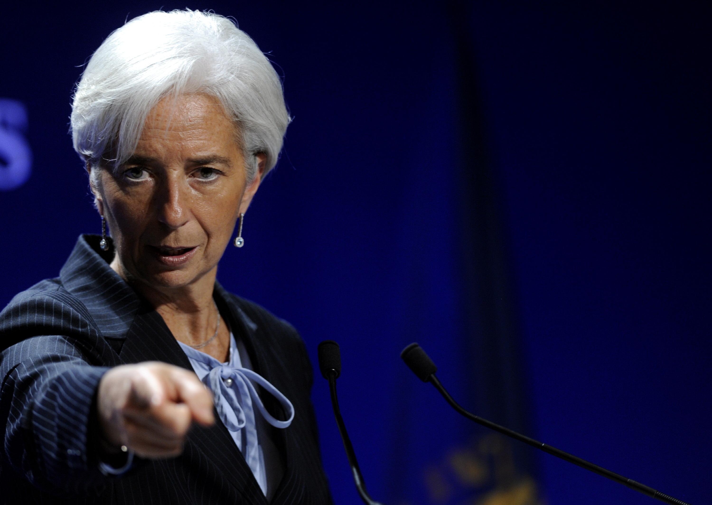 Lagarde alla BCE / Gtres