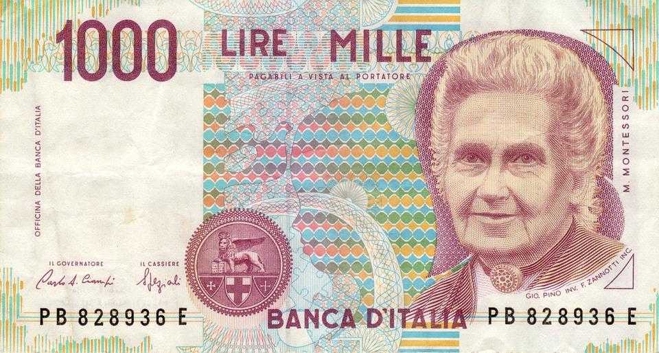 mille lire montessori