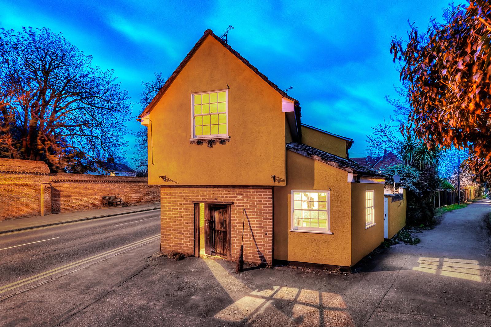 Si tratta di The Cage, a St. Osyth, una delle case incantate più famose della Gran Bretagna