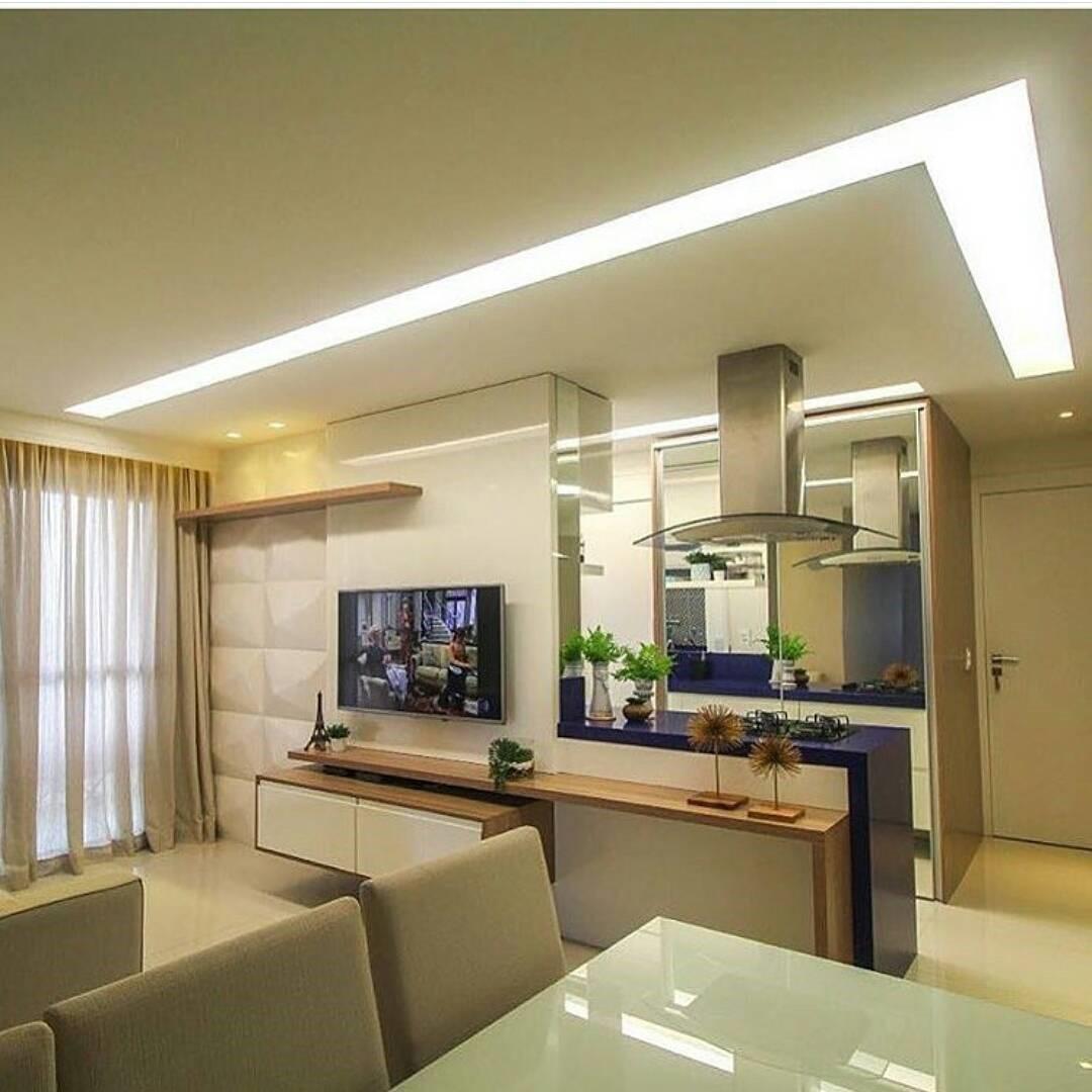 Un classico esempio di illuminazione integrata / nuancedesign.com.br via MElOM