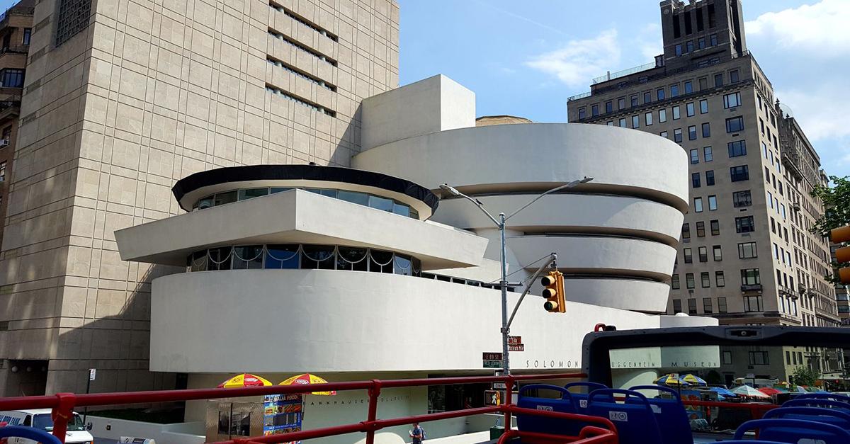 Guggenheim Museum, New York (1959) / Wikipedia