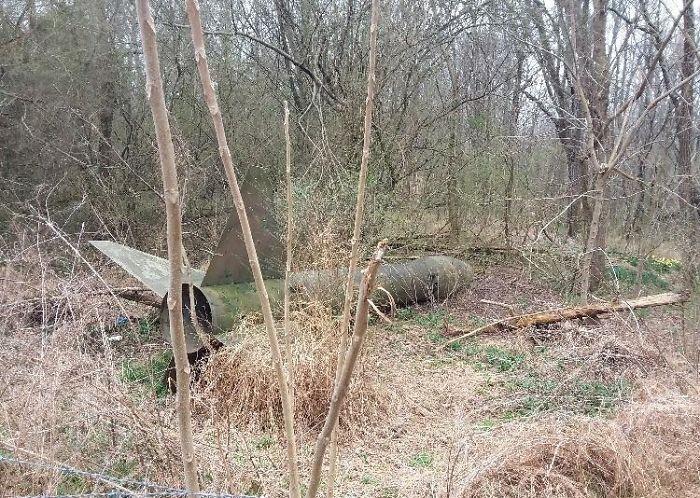 Un missile abbandonato / Bored Panda