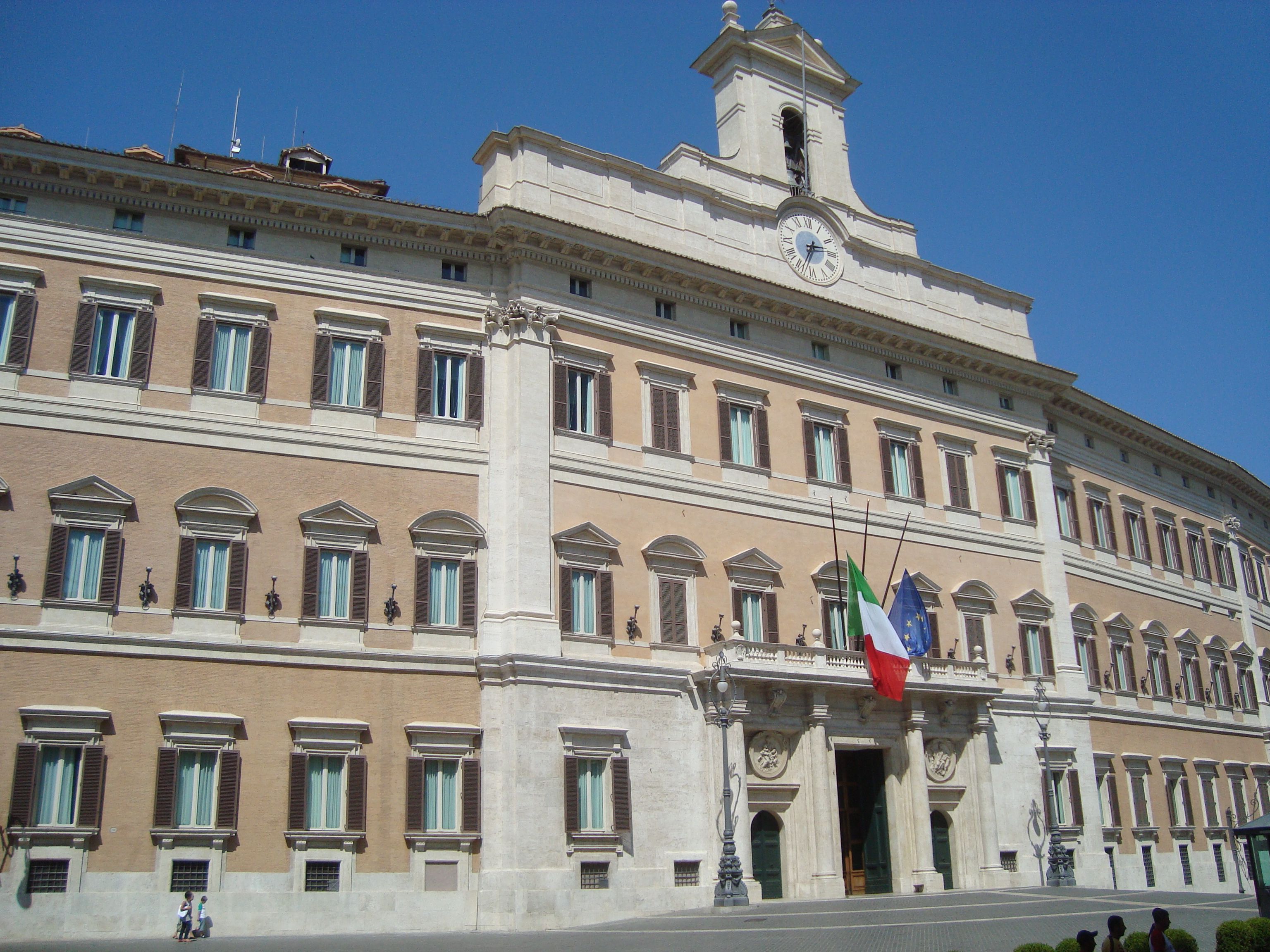 Palazzo di Montecitorio / Wikimedia commons