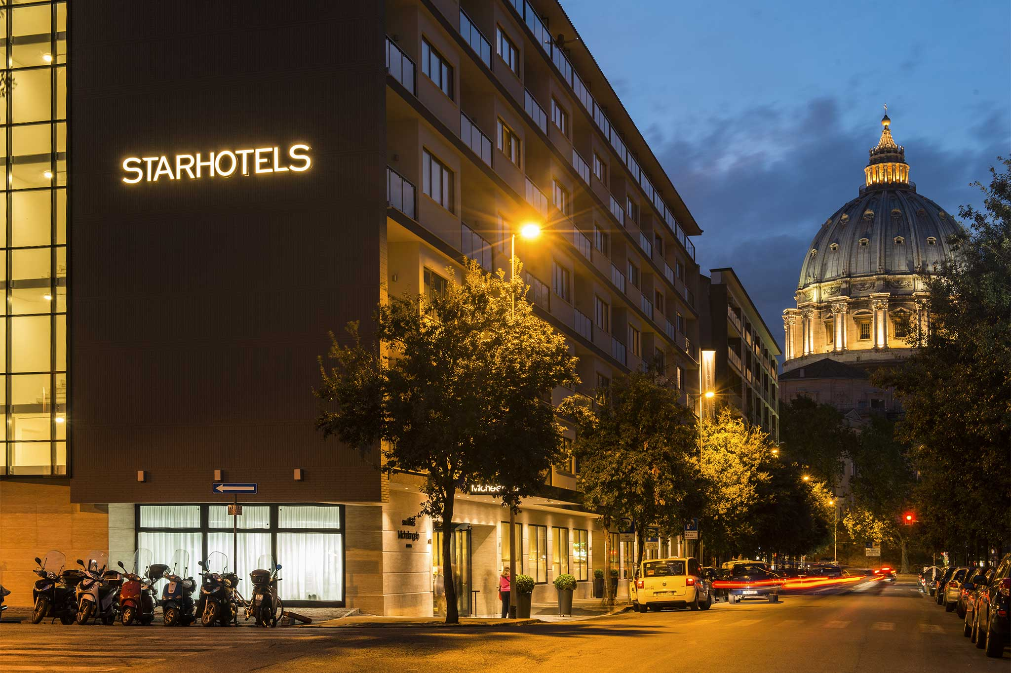 L'Hotel Michelangelo di Roma / Starhotels
