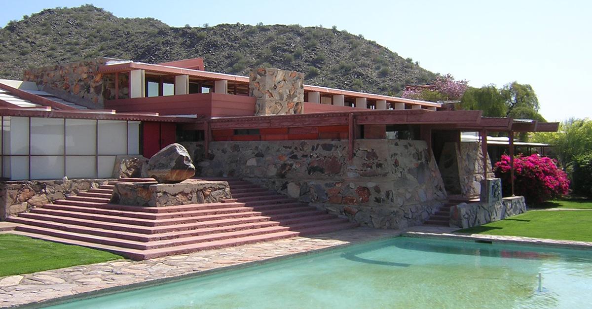 Taliesin West, Scottsdale, Arizona (1937) / Wikipedia