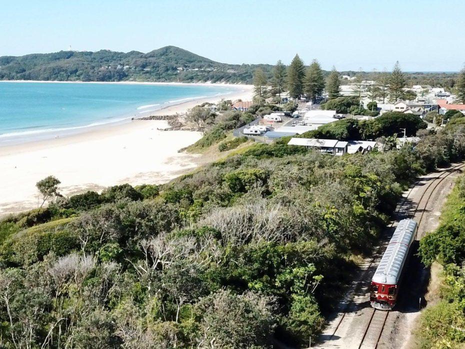 Il treno solare australiano