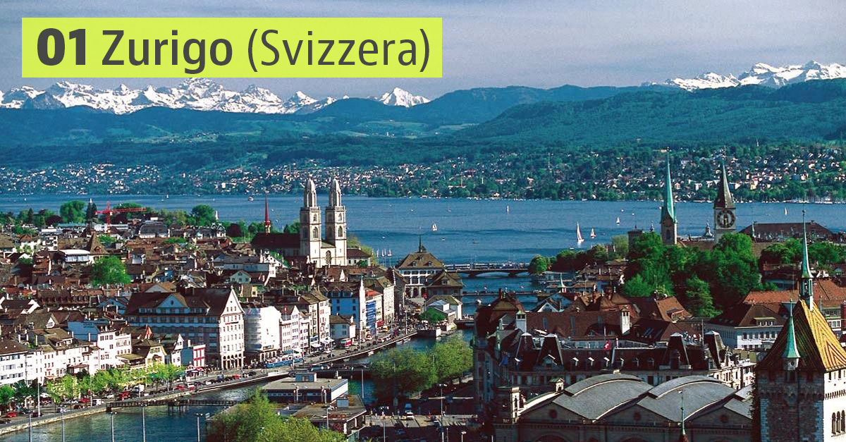 Zurigo, Svizzera / Wikimedia commons