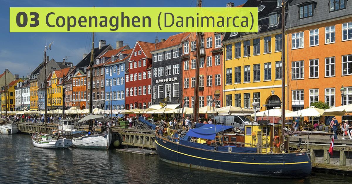 Copenaghen, Danimarca / Flickr/Creative commons