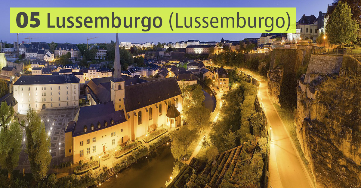 Lussemburgo, Lussemburgo / Wikimedia commons