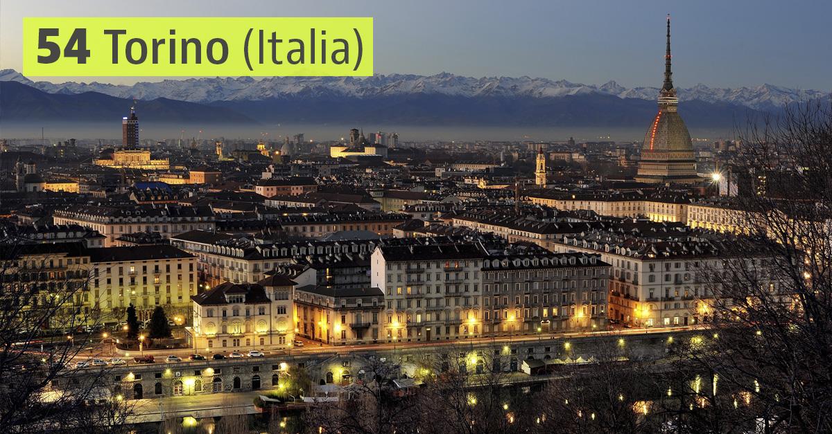 Torino, Italia / Wikimedia commons