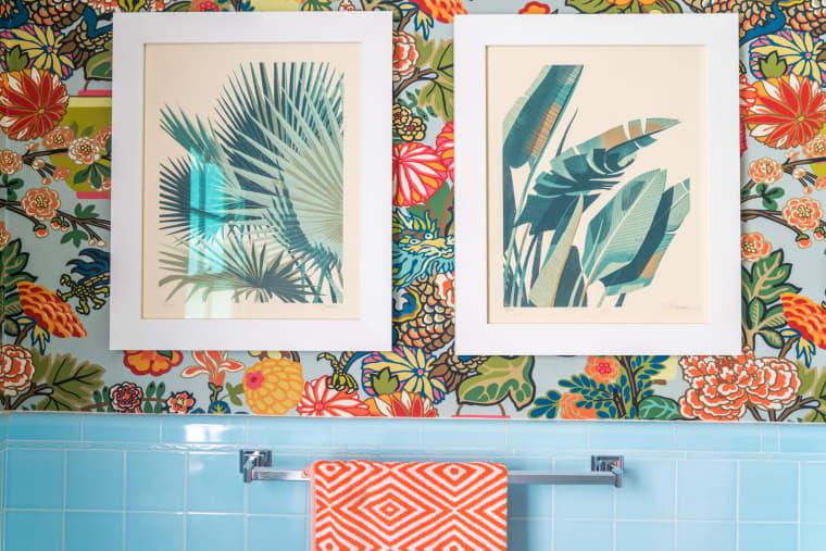 Idee per decorare le pareti del bagno
