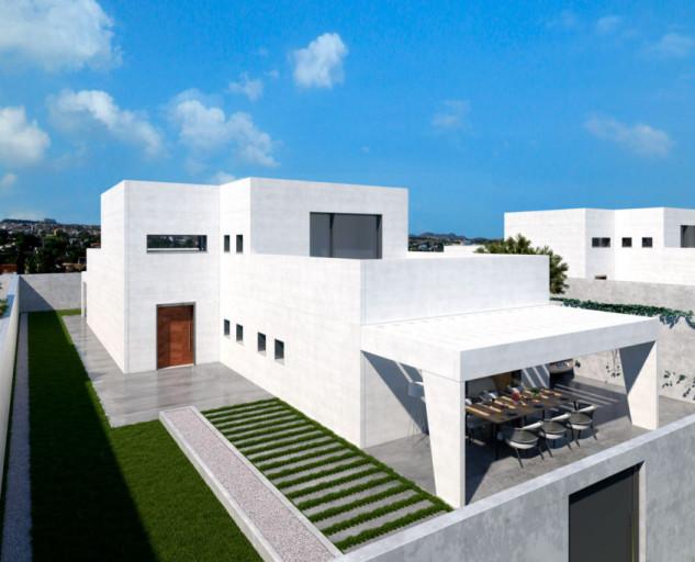 Casa bianca in stile mediterraneo / Modular Home