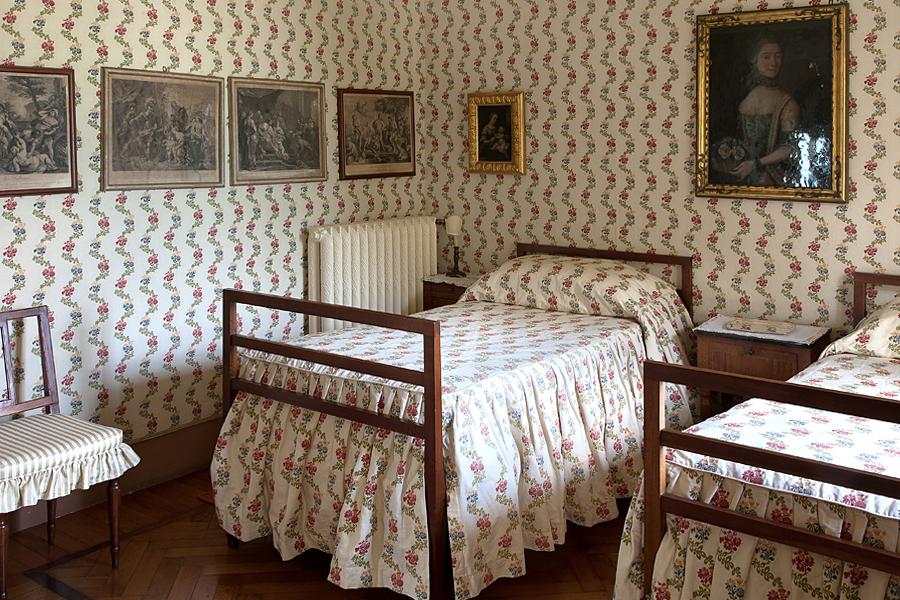 Camera doppia / http://villasolacabiati.fondazioneserbelloni.com