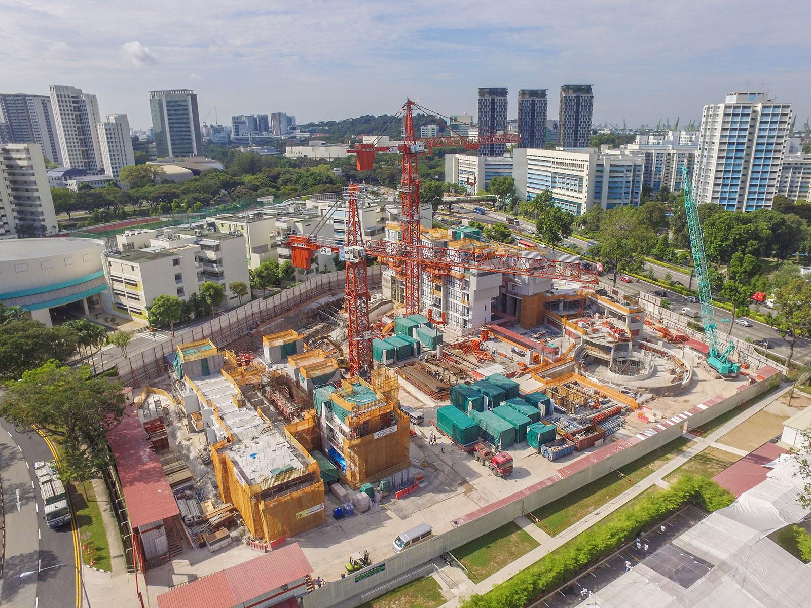 E' uno dei grattacieli più originali di Singapore