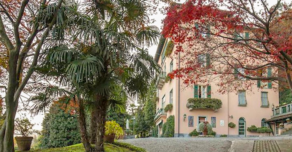 """La villa è conosciuta anche come """"La Verbanella"""""""