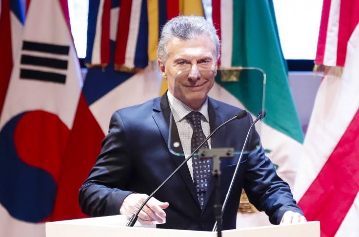 Il presidente dell'Argentina, Mauricio Macri
