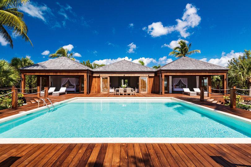 La proprietà di Bruce Willis a Parrot Cay