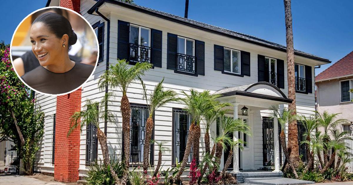 La casa di Meghan Markle a Los Angeles