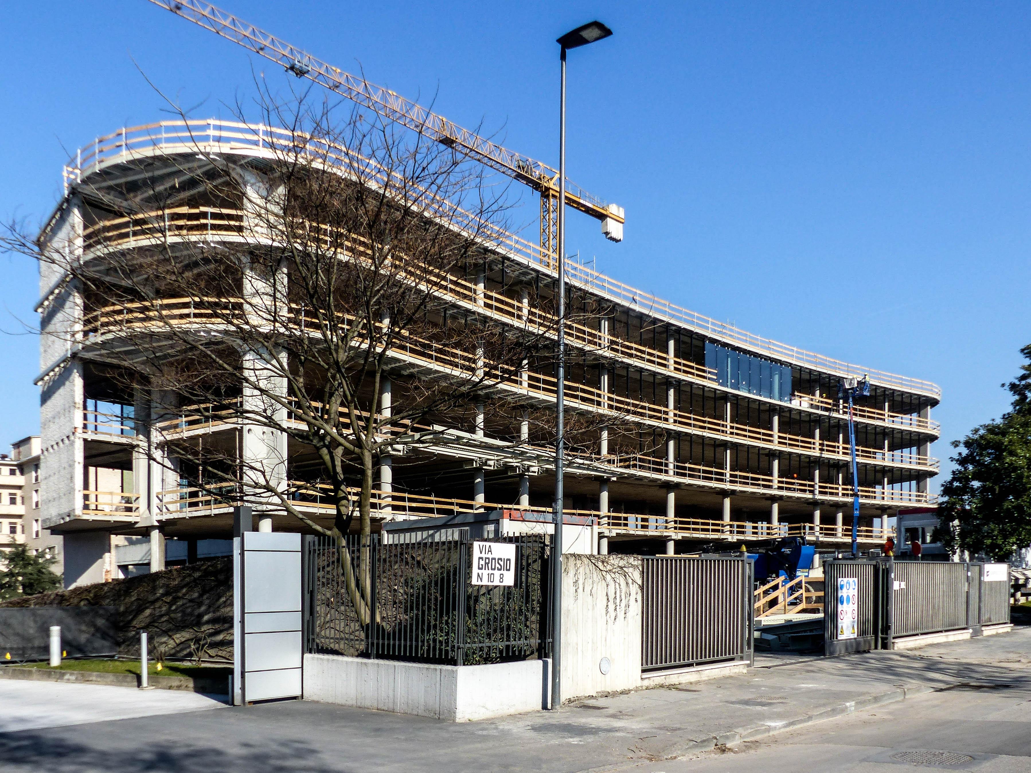 Arcadia center- cantiere / Studio Giuseppe Tortato Architetti