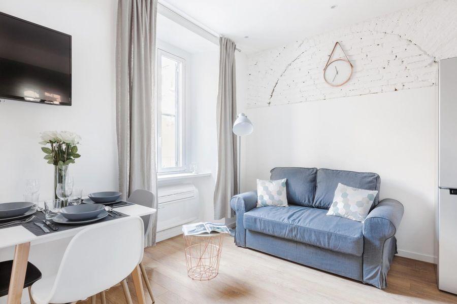 Stile scandinavo per il soggiorno / Desearq