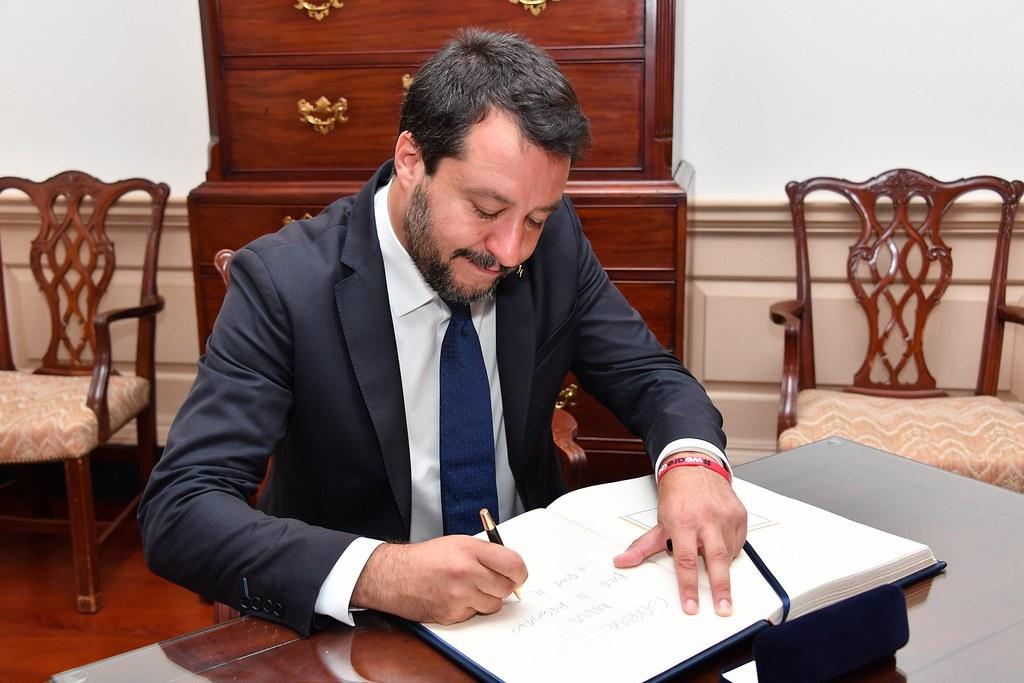 Salvini al lavoro sulla nuova legge di stabilità 2020
