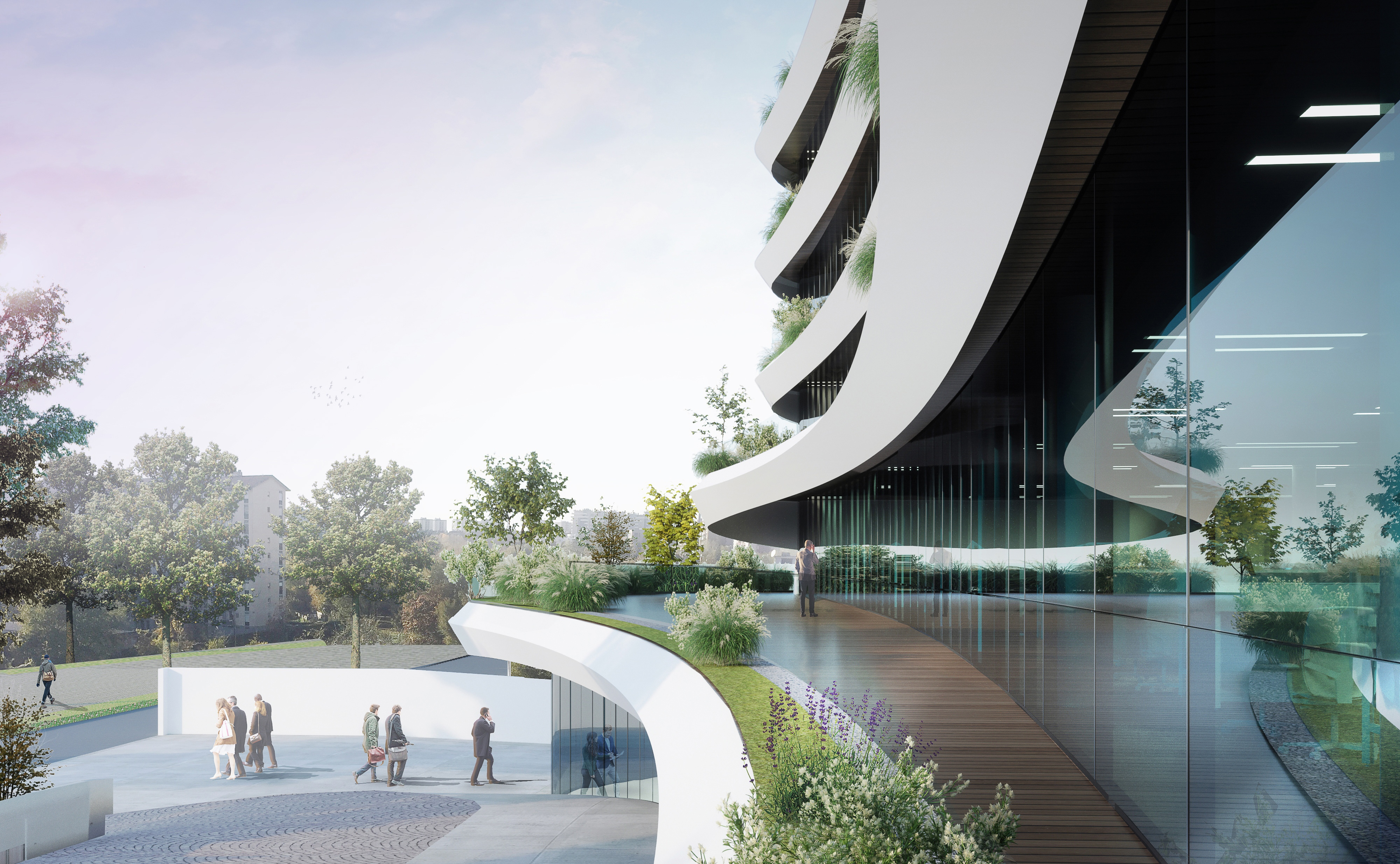 Arcadia Center / Studio Giuseppe Tortato Architetti