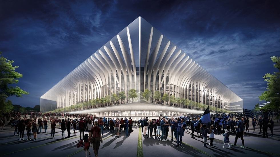 Milan e Inter hanno presentato i progetti insieme