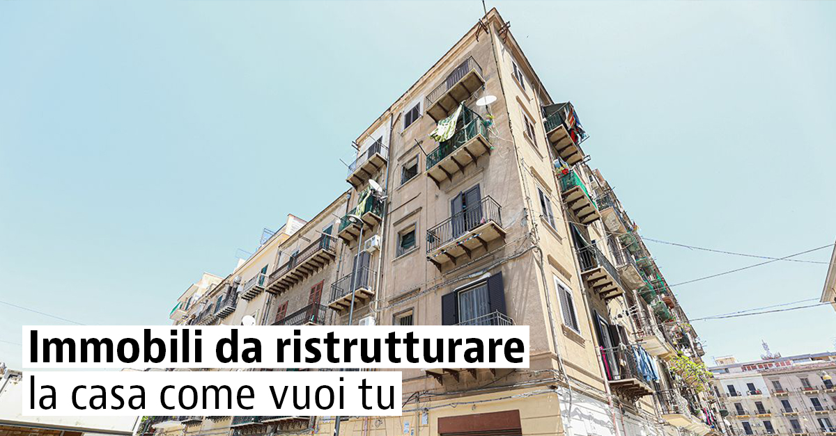 Case da ristrutturare