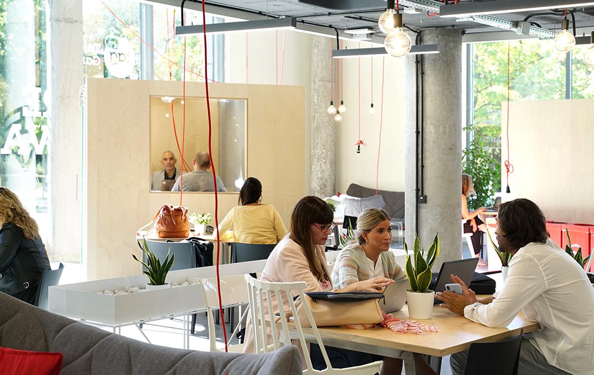 Una riunione di lavoro a Talent Garden