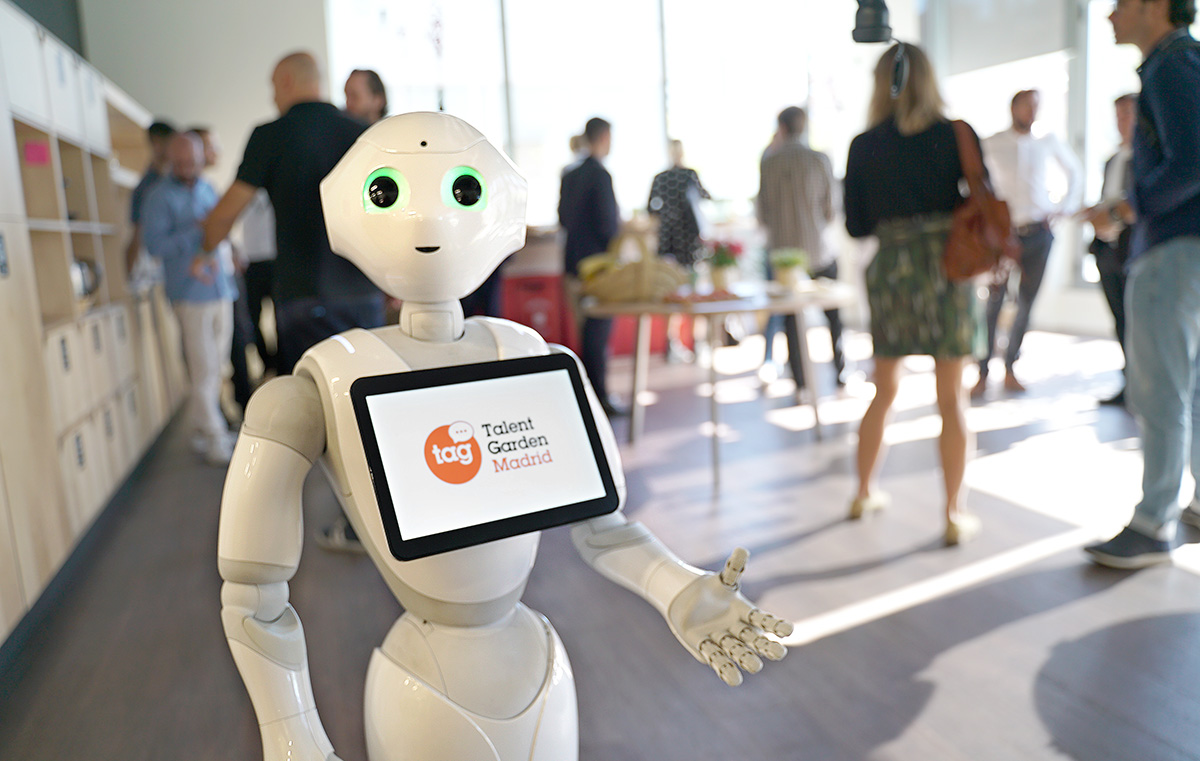 Un visitatore digitale di Talent Garden