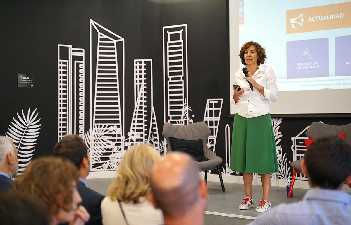 """Irene Lozano, Segretaria di Stato de """"España Global"""""""