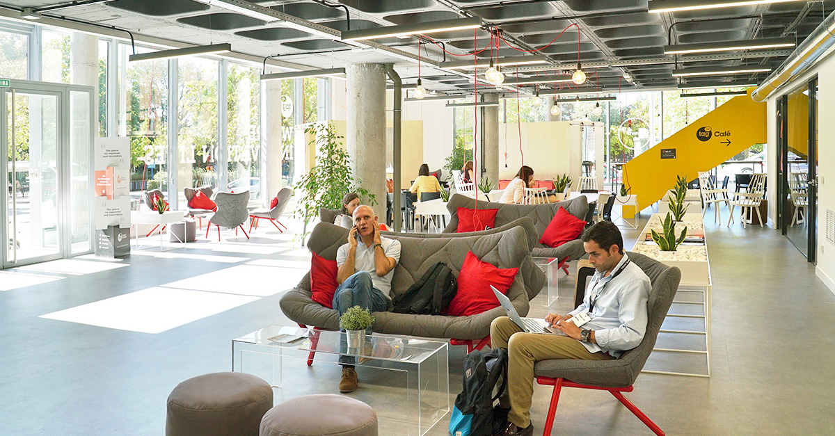 Il campus di Talent Garden a Madrid