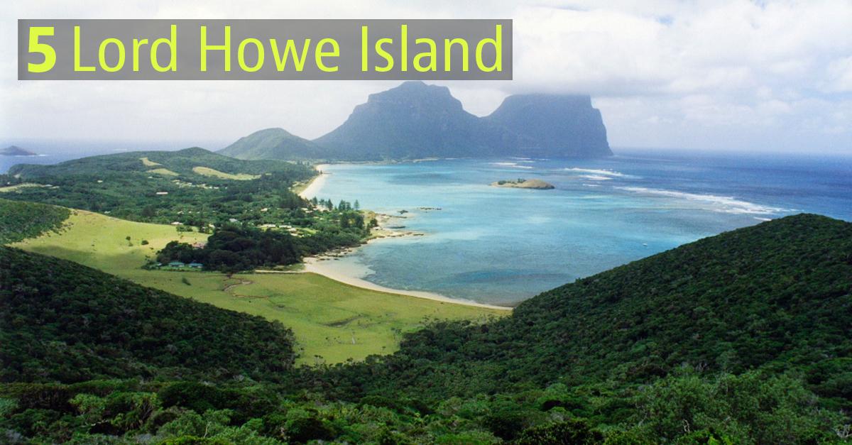 L'isola è patrimonio Unesco