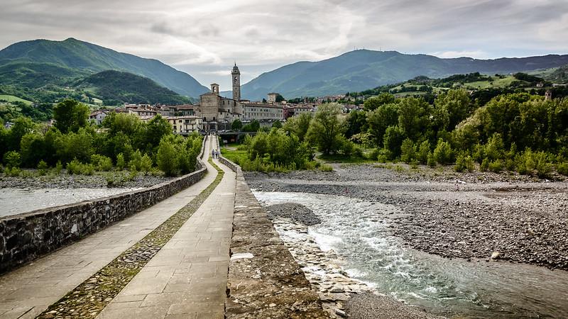 Vista di Bobbio dal Ponte del Diavolo / Flickr/Creative commons