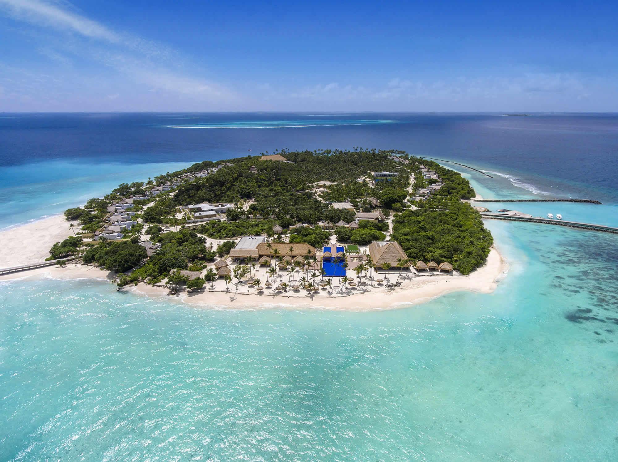 Il resort è circondato da 1,5 chilometri di spiaggia