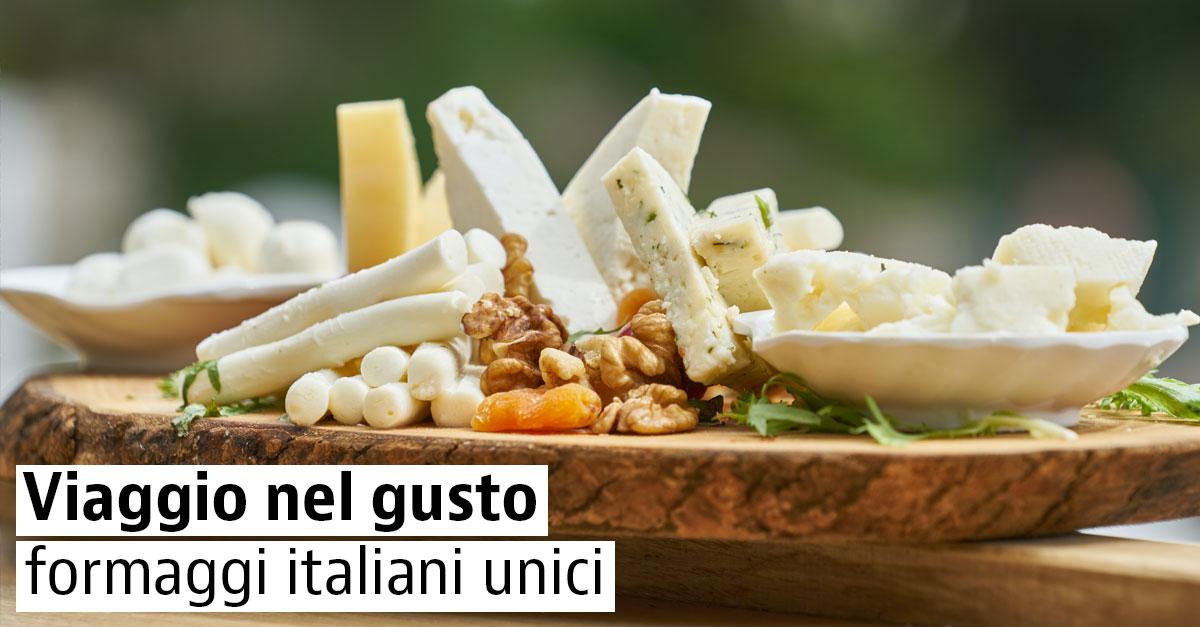 Formaggi DOP italiani
