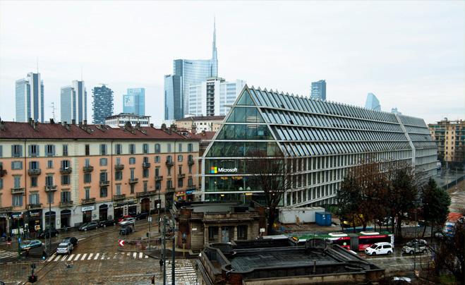 sede microsoft Milano