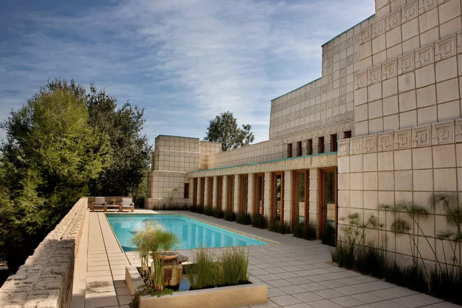 Ennis House, in California