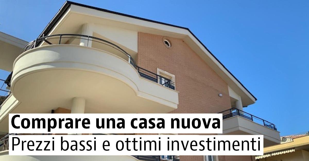 Case nuove ed economiche in vendita