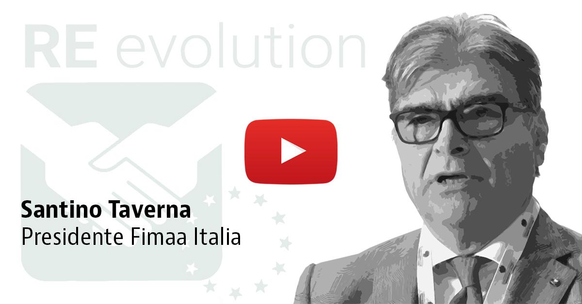 Il presidente Fimaa Santino Taverna