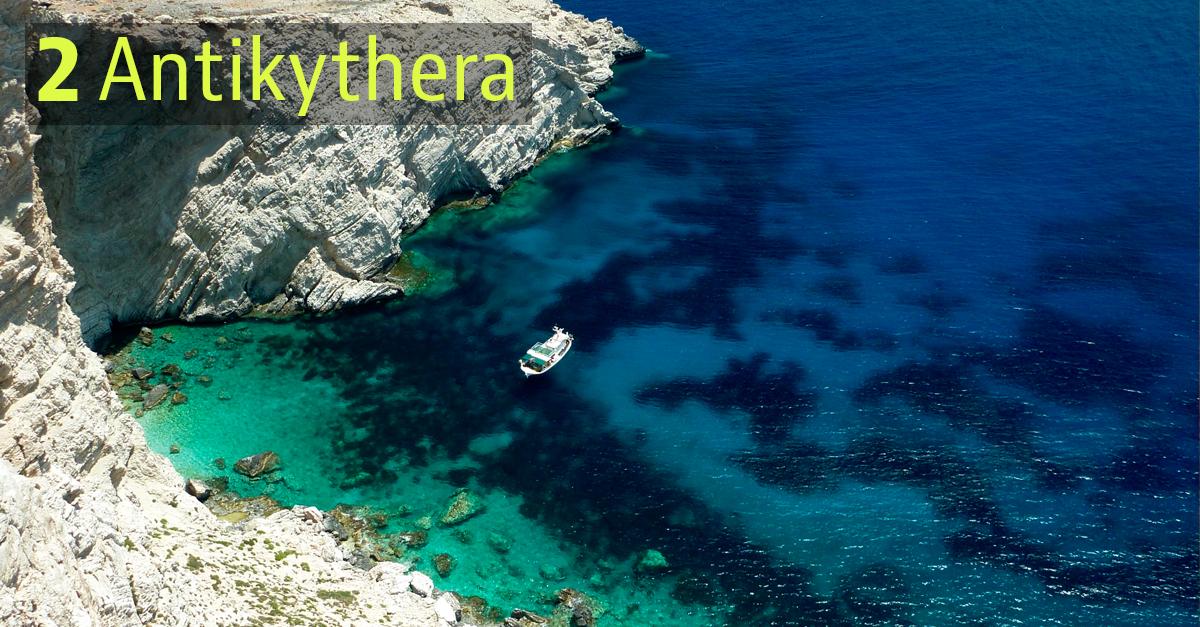 Isola di Antikythera, Grecia