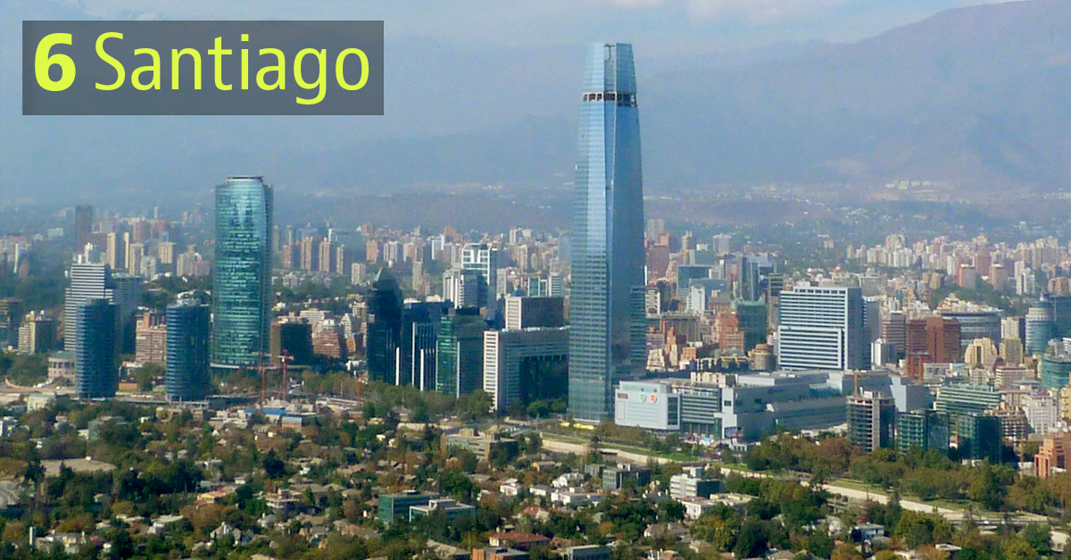Santiago, Cile