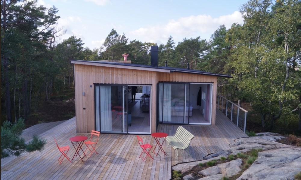 Unione tra ambienti interni ed esterni / Anders Berensson Architects