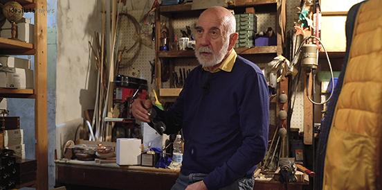 Adrian, l'artigiano del tempo,Roma