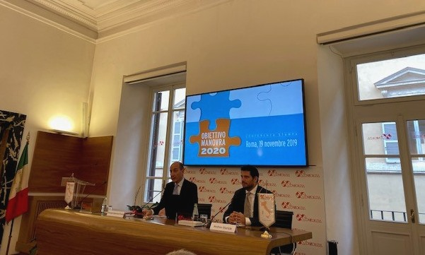 Presidente di Confedilizia Giorgio Spaziani Testa ed economista Andrea Giuricin