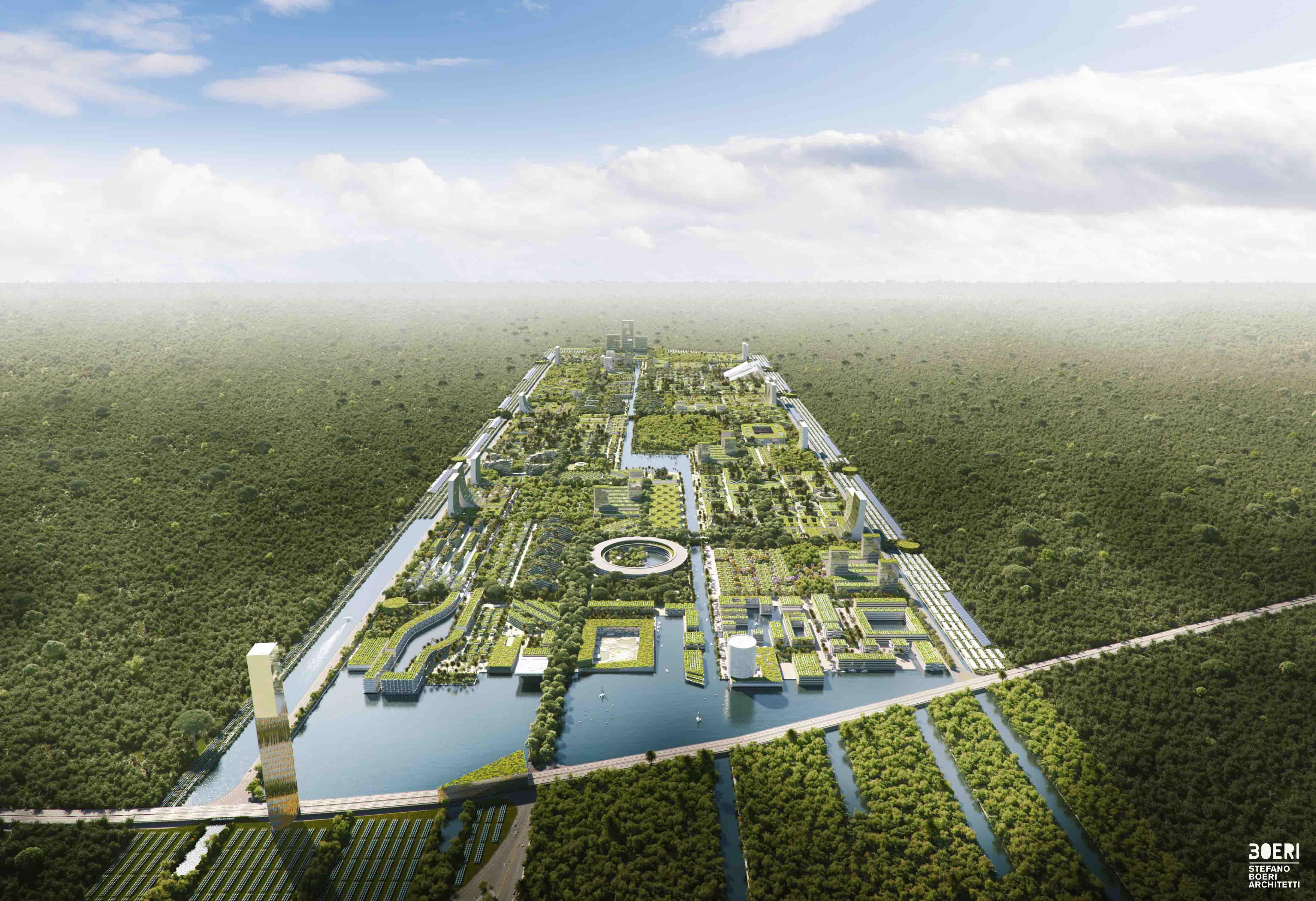 Ci saranno 577 ettari di verde