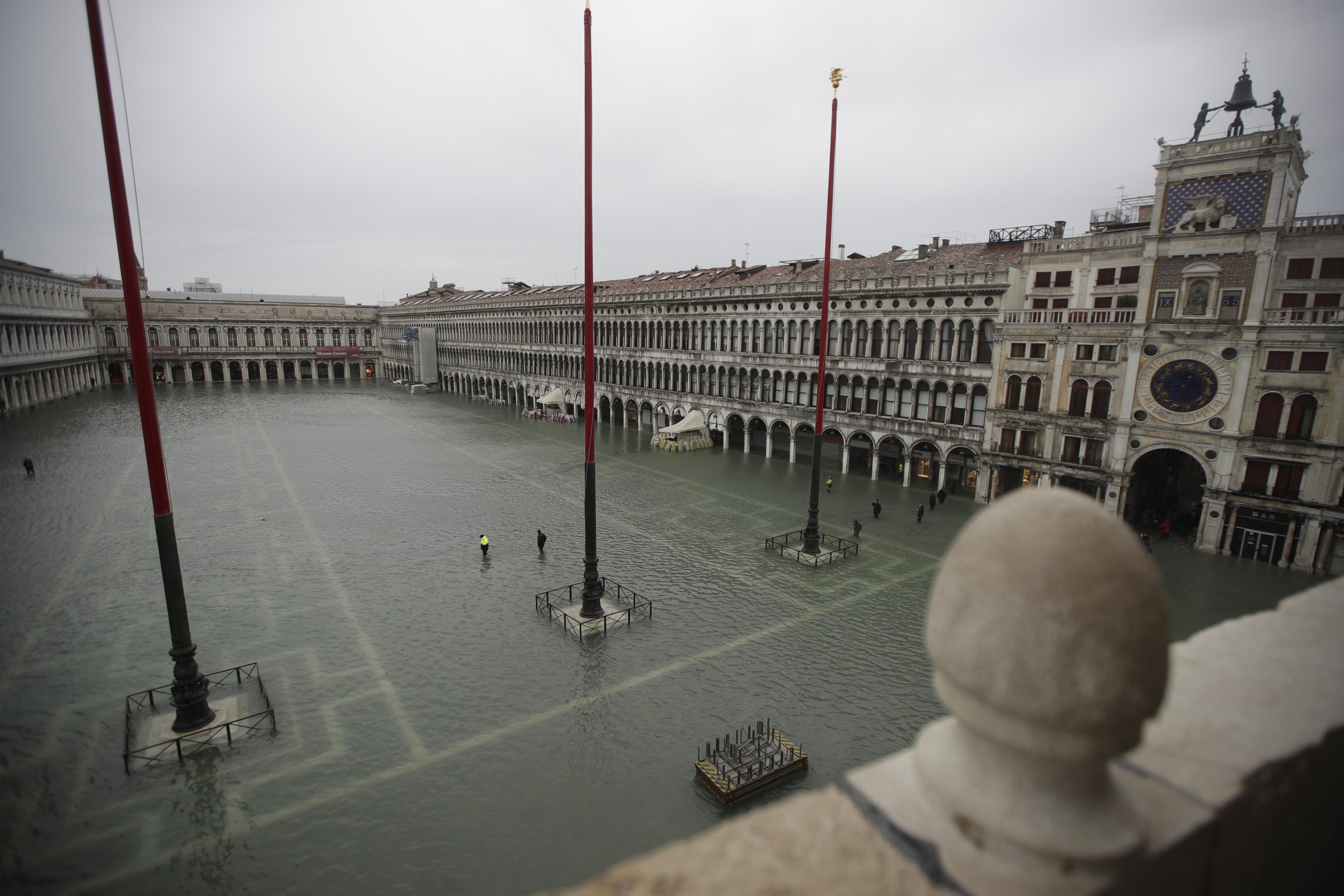 Stato di emergenza a Venezia