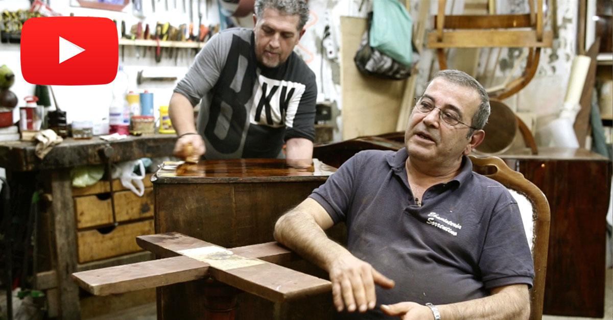 Salvatore Sorrentino, ebanista di Napoli