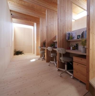 Un piccolo ufficio in casa