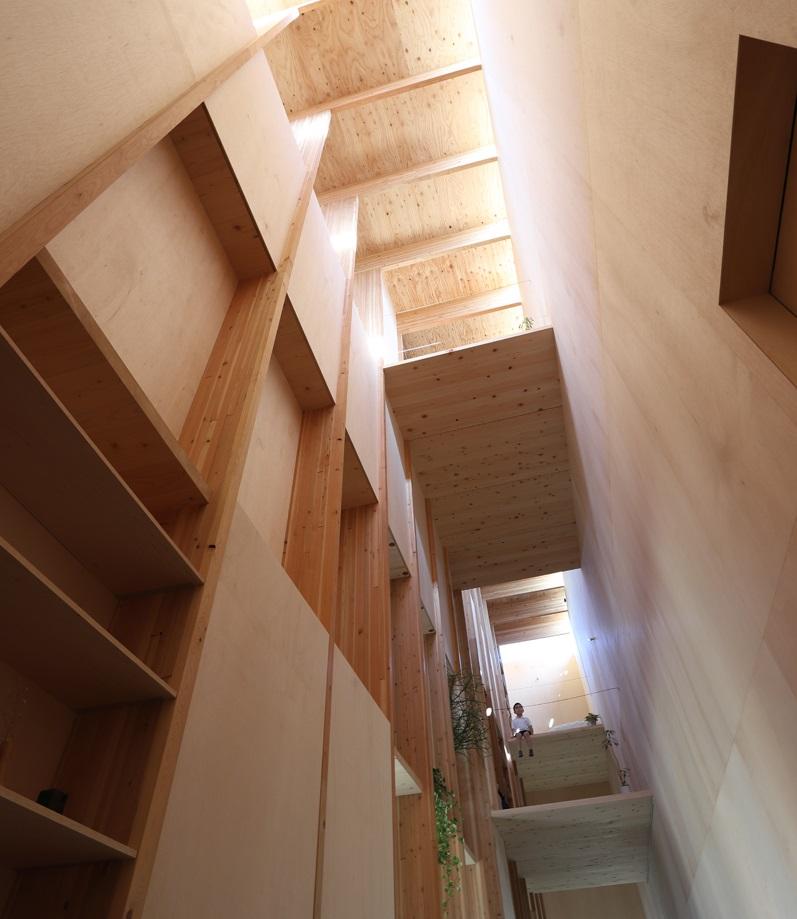 Gli interni misurano 102 m2